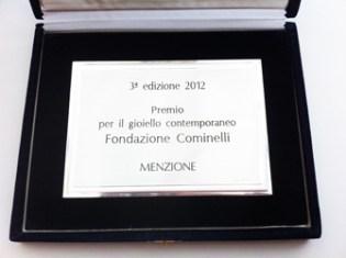Premio Fondazione Cominelle per il Gioiello Conteporaneo