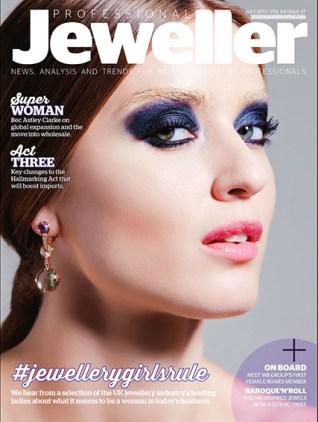 "Professional Jeweller - ""Jewellery Girls Rule"" Interview July 2013"