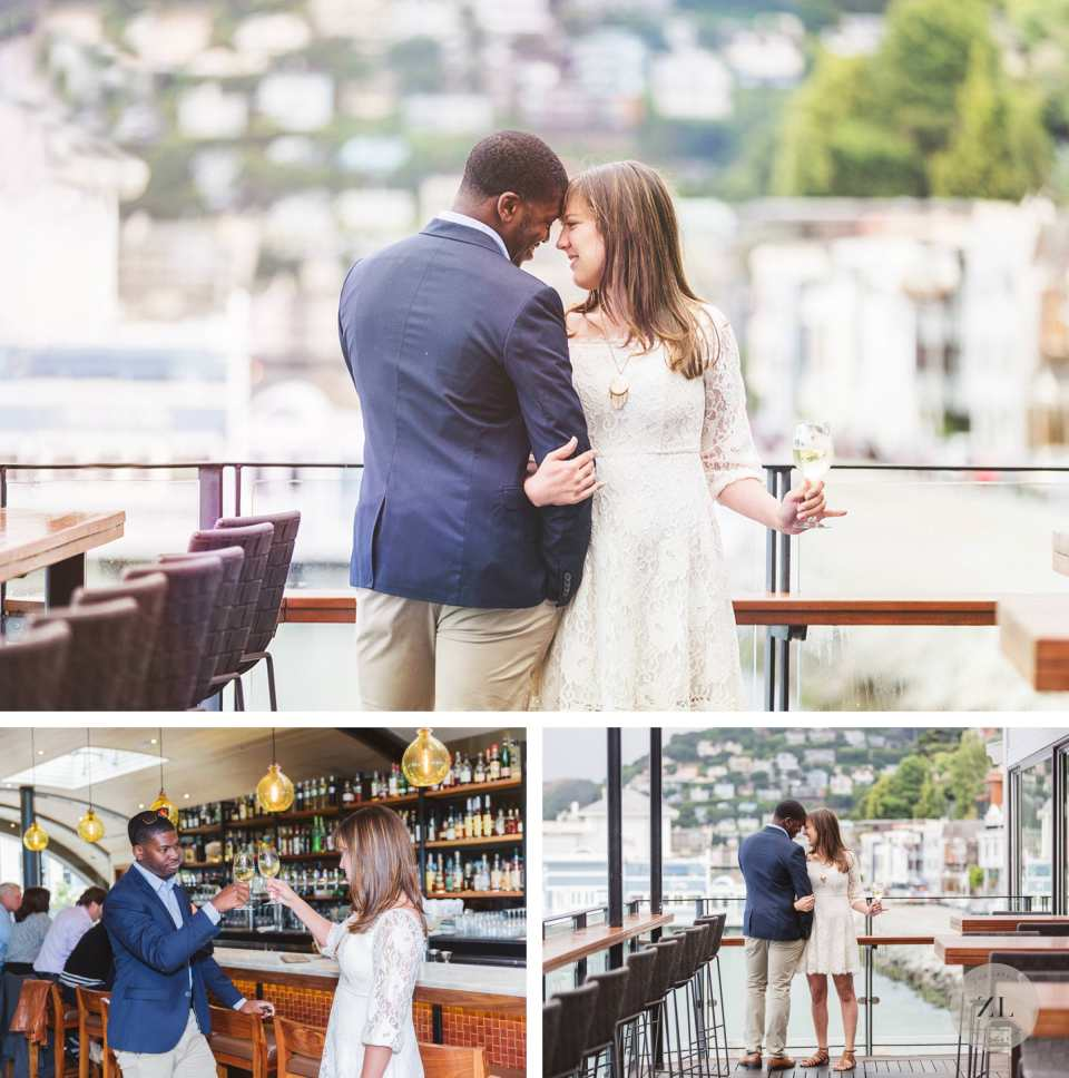barrel house tavern sausalito engagement photography