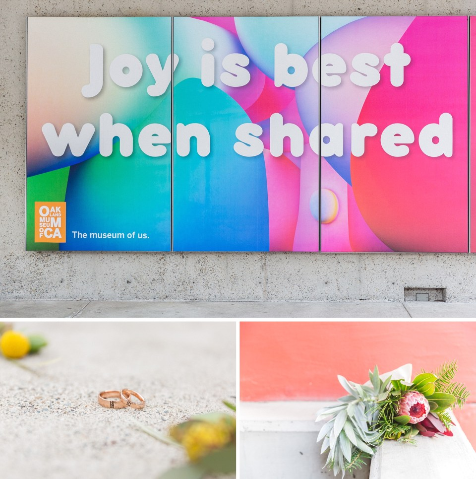 joy is best when shared collage from omca