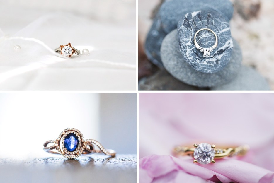 capturing engagement rings in the bay area
