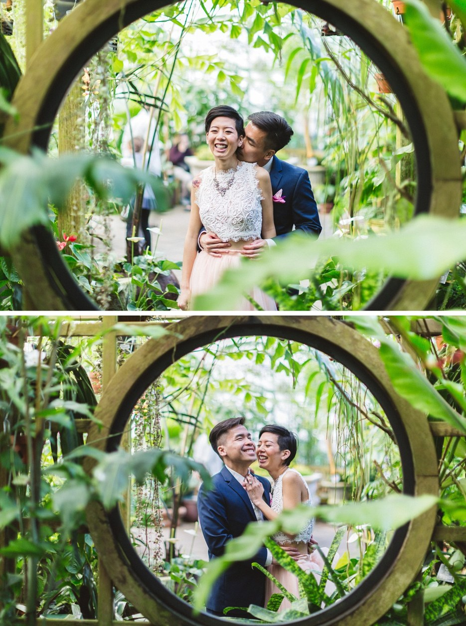 san francisco conservatory of flowers wedding photography