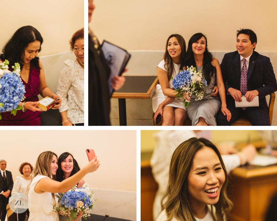 checking in to room 168 clerk's office at City Hall Vietnamese wedding