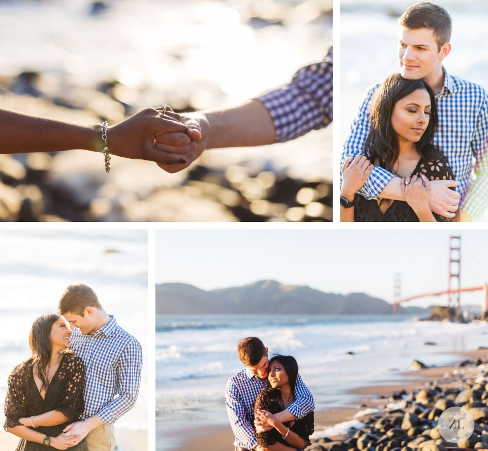 intimate portraits from marshalls beach san francisco engagement