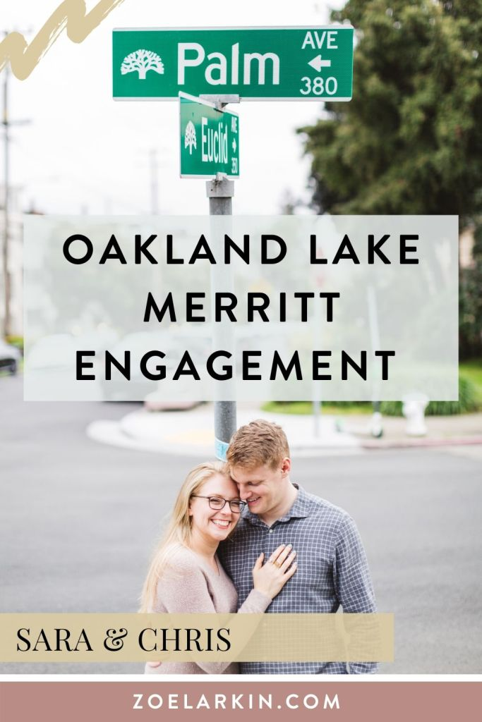 A beautiful engagement shoot around Lake Merrit and the couple's home in Oakland. After the Lake location we hit a hidden gem of Oakland, perfect for engagement sessions - Port View Park. Though it was closed and threatening to rain, we still got a good range of photos at the part of the location that was open! Engagement shoot ideas? I'd love to hear them!  | #engagementphotography #engagementinspo #bayareaengagement #bayareaweddingphotographer | Zoe Larkin Photography