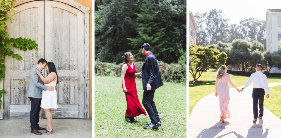 What to wear for engagement photos - ideas by Zoe Larkin Photography