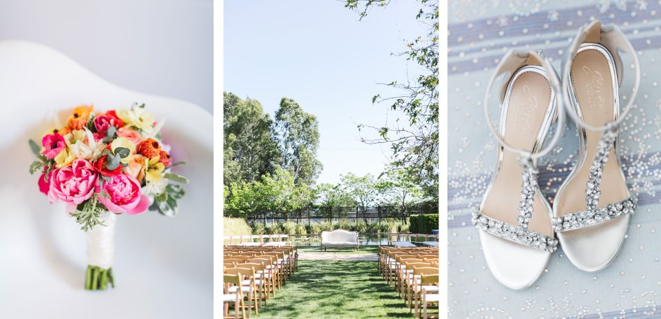 collage of images showing wedding vendors awesome work