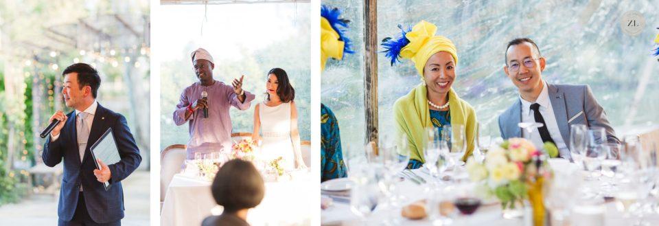 speeches and toasts in tent cornerstone sonoma wedding