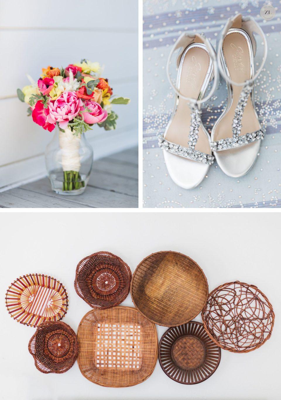 wedding details by vanda florals at cornerstone sonoma