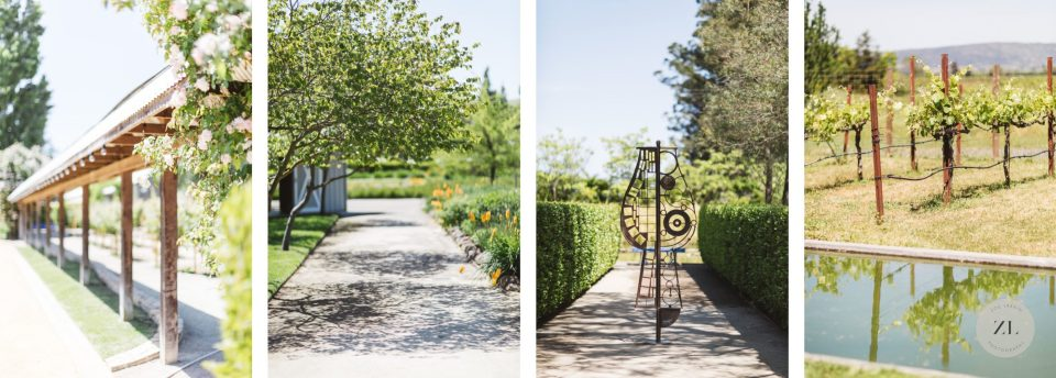 Stunning grounds of cornerstone sonoma photographed by Zoe Larkin Photography