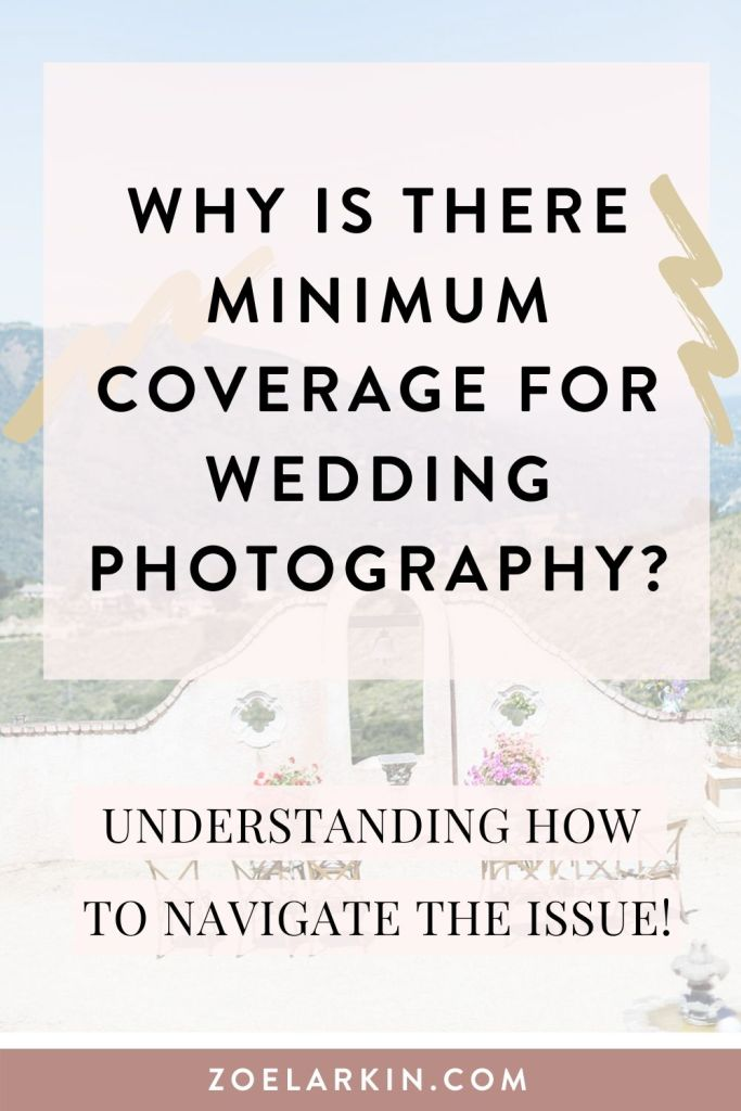 Minimum hours of coverage for wedding photography? Why is it not always possible to get a photographer for just 3 or 4 hours? It isn't always feasible from a business perspective. Also I have ideas why actually having a wedding photographer there for the whole day might be a good idea. If your budget doesn't stretch that far, some actionable tips for how to get your photographer to cover a smaller portion of the wedding day #weddingplanning #wedding #weddingphotography | Zoe Larkin Photography