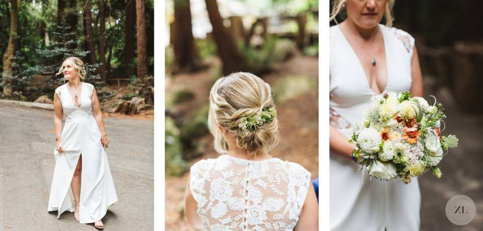 bridal wedding details - Stern Grove wedding photos