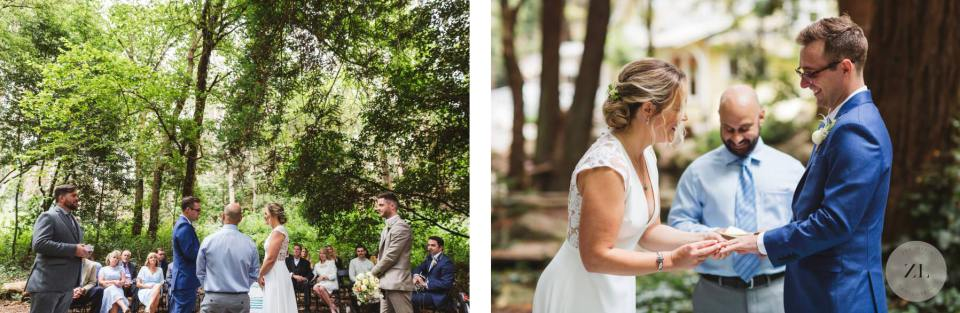 couple getting married at Stern grove - Zoe Larkin Photography