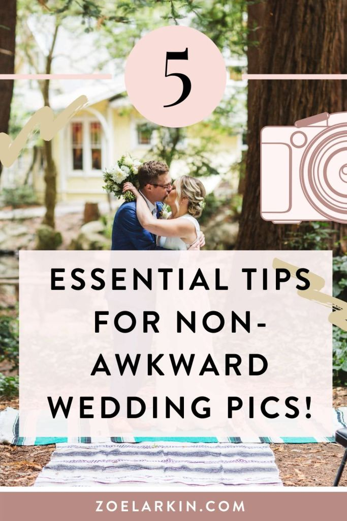 What can you do to avoid awkward wedding photos - and what will your photographer do? 5 tips of things you can do to ensure those natural, relaxed and non-awkward wedding photos! It's daunting getting wedding photos taken. Knowing what to do and even what not to do helps to calm nerves and make SURE you're doing all you can to get incredible wedding photos! Tip: it's the photographer's job, so relax and enjoy each other & your wedding shoot! #weddingphotography #weddings | Zoe Larkin Photography