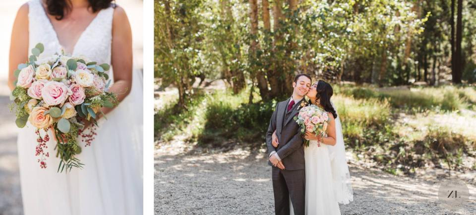 portrait session photos after Glacier Point Amphitheater Wedding by Zoe Larkin Photography