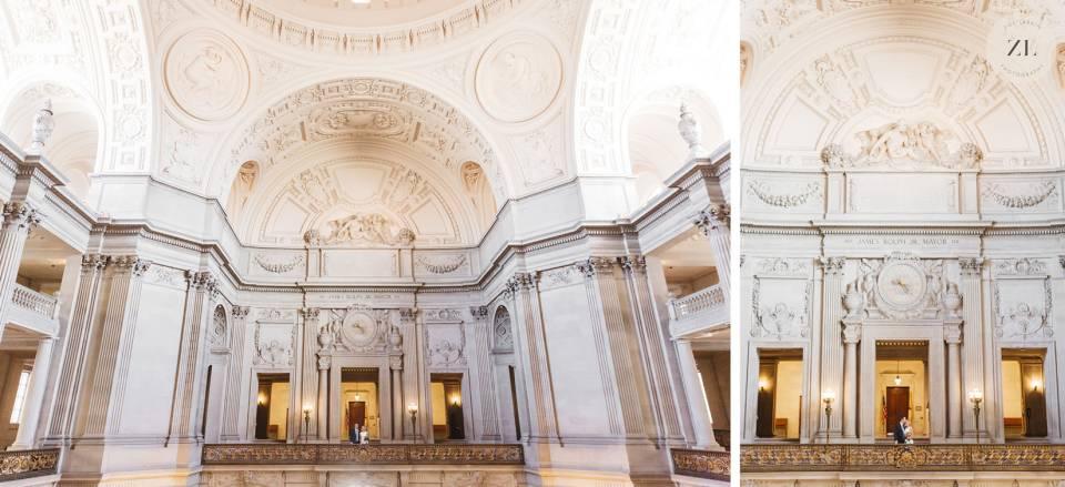 Mayor's Balcony wedding photo examples | Zoe Larkin Photography