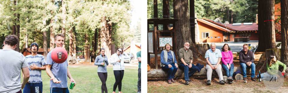 Camp Mendocino Wedding photos - guest candids