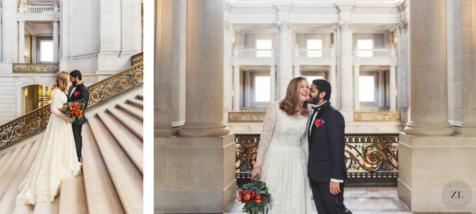 how to plan your san francisco city hall wedding day by Zoe Larkin Photography