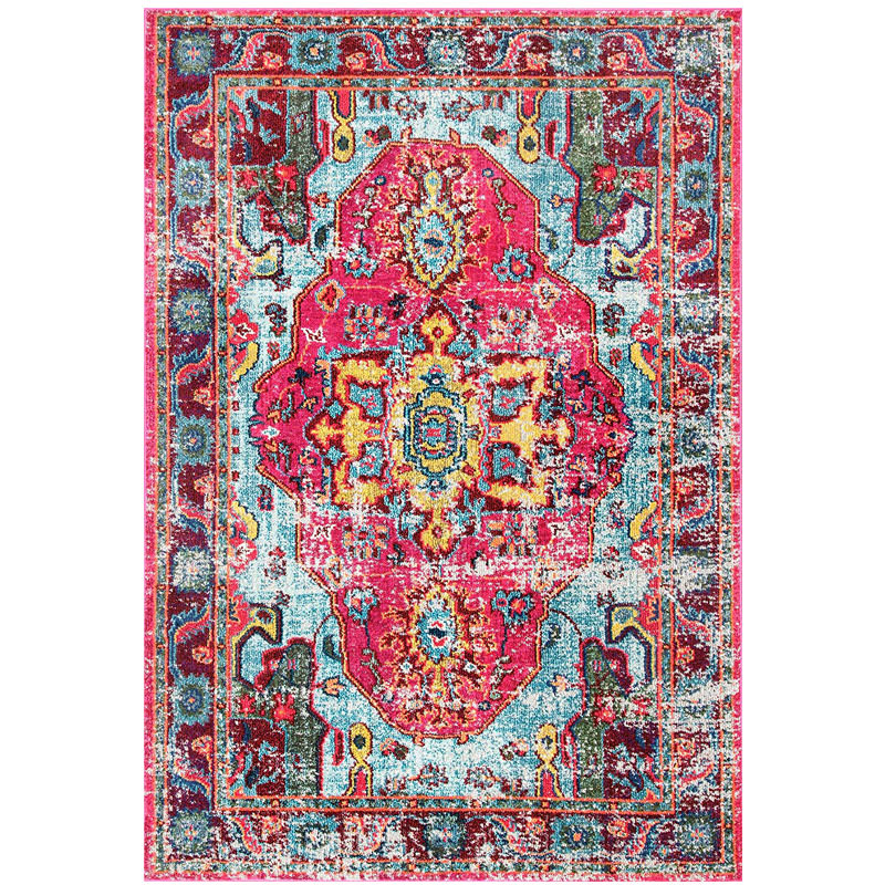 Vintage Boho distressed Area Rug