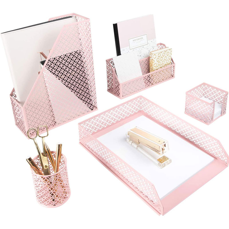 Pink Desk Accessories for Women
