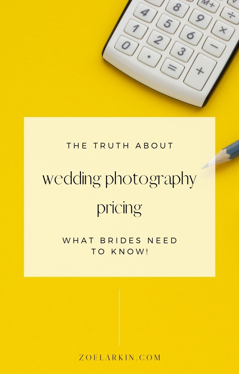 Having already written extensively about wedding photography pricing, this article is meant to provide even more information on the reality of working as a full time wedding photography business owner, and why we charge the prices we do. Photography pricing is dictated by the market of the area you're in, and as such, you can be sure that the price you pay is a fair one. This is a great read for anyone who's felt that wedding photos are a rip-off! | #weddings #weddingphotography zoelarkin.com