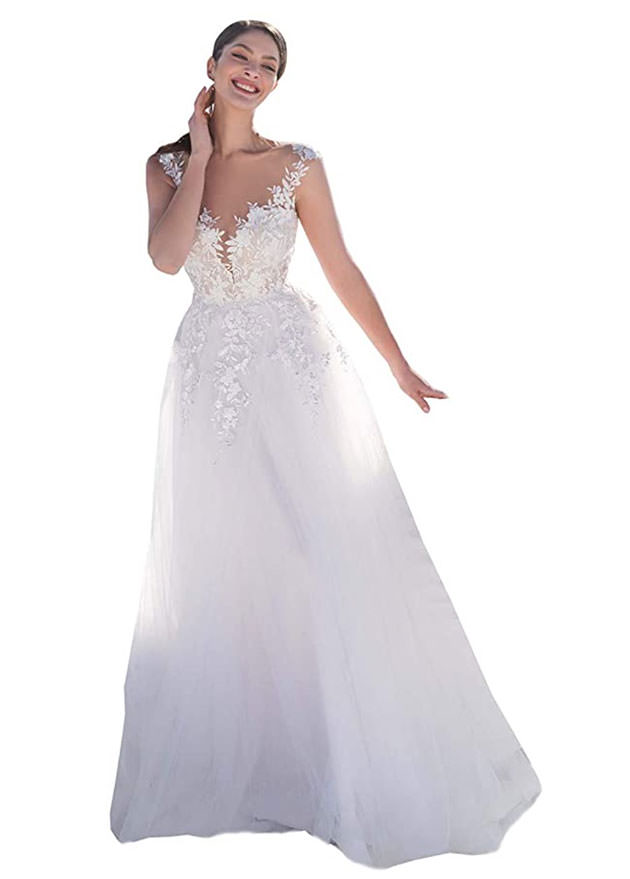 Boho wedding dresses on amazon - available in 2021