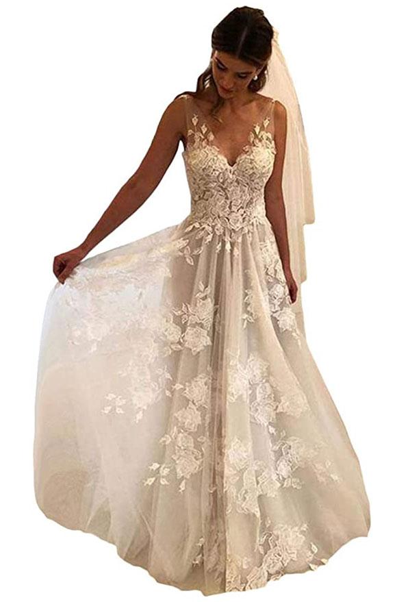 Boho wedding dresses under $200