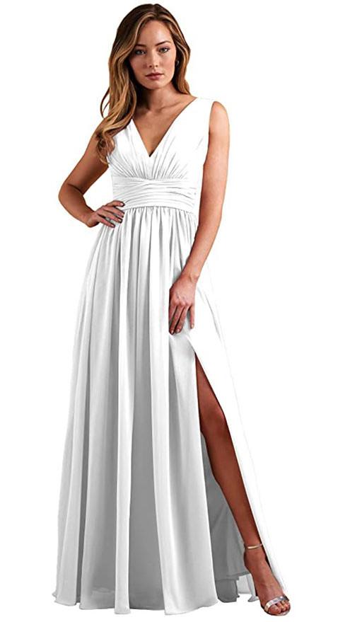 simple boho Boho wedding dresses under $200 on amazon.com