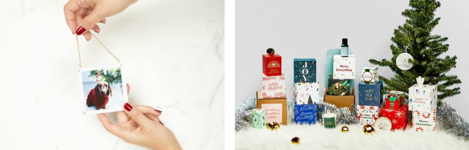 selection of affordable gifts for small business owners to send to clients for the holidays 2020, affordable gifts