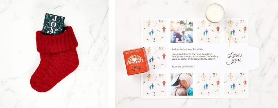 ideas for small creative business owners and photographers to send client gifts for 2020 holiday season