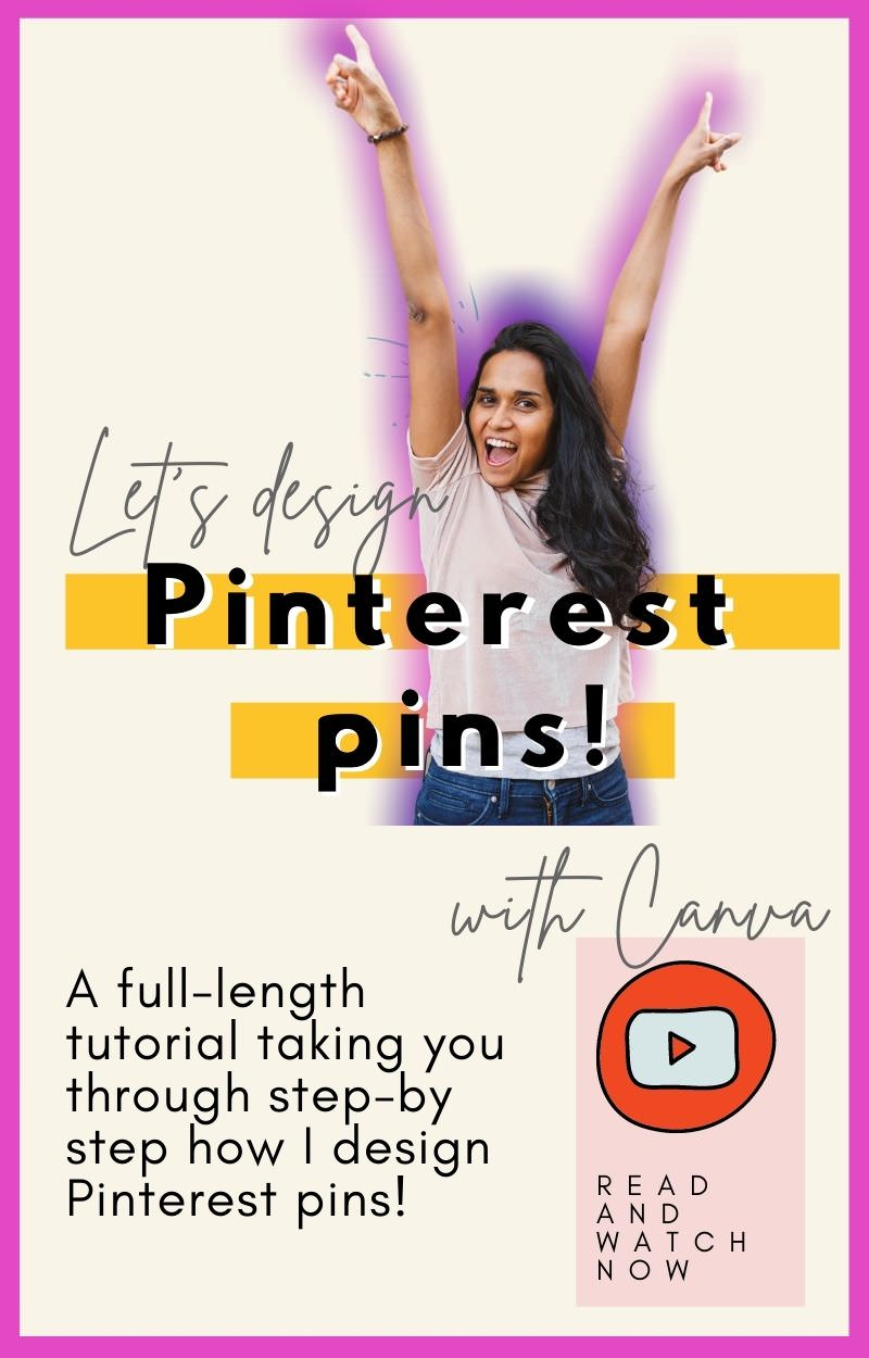 Wondering how to create a pin on Pinterest quickly, easily and for free? Creating your own Pinterest images doesn't have to be complicated. Keep it simple and effective by following my steps in this tutorial. A pin is a visual invitation for Pinterest users to click on it and access your content. So, make your pin graphic enticing and on-brand! I'll show you how to design a beautiful, click-worthy Pinterest pin in Canva #pinterestpins #pinterestmarketing #pinterestforbusiness | zoelarkin.com