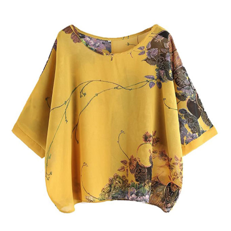 what to wear for engagement photos - Milumia Women's Florals Batwing Sleeve