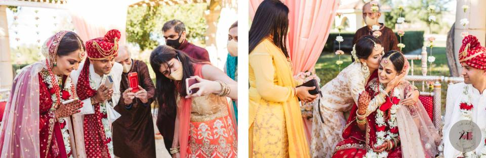 candid wedding photos from indian wedding at the club at ruby hill in pleasanton CA