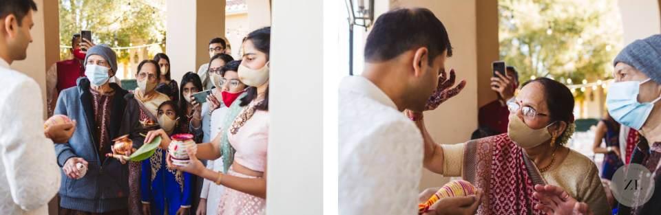 hindu wedding ceremony rituals at pleasanton wedding venue