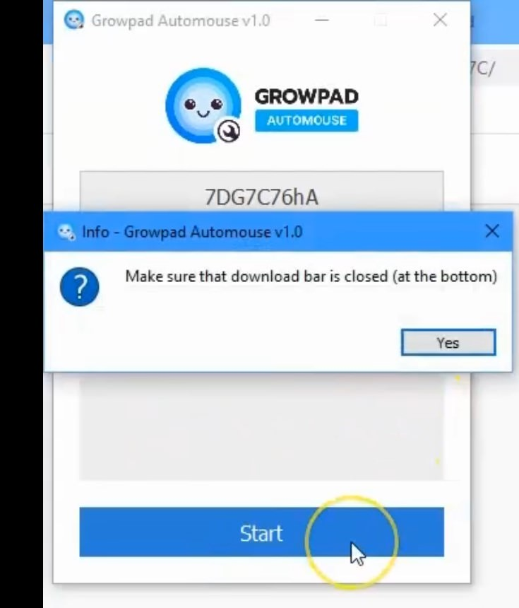 How to activate and turn on Growpad automouse function - Growpad user review