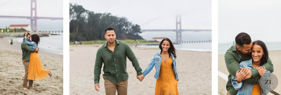 engagement photography at Crissy Field in San Francisco