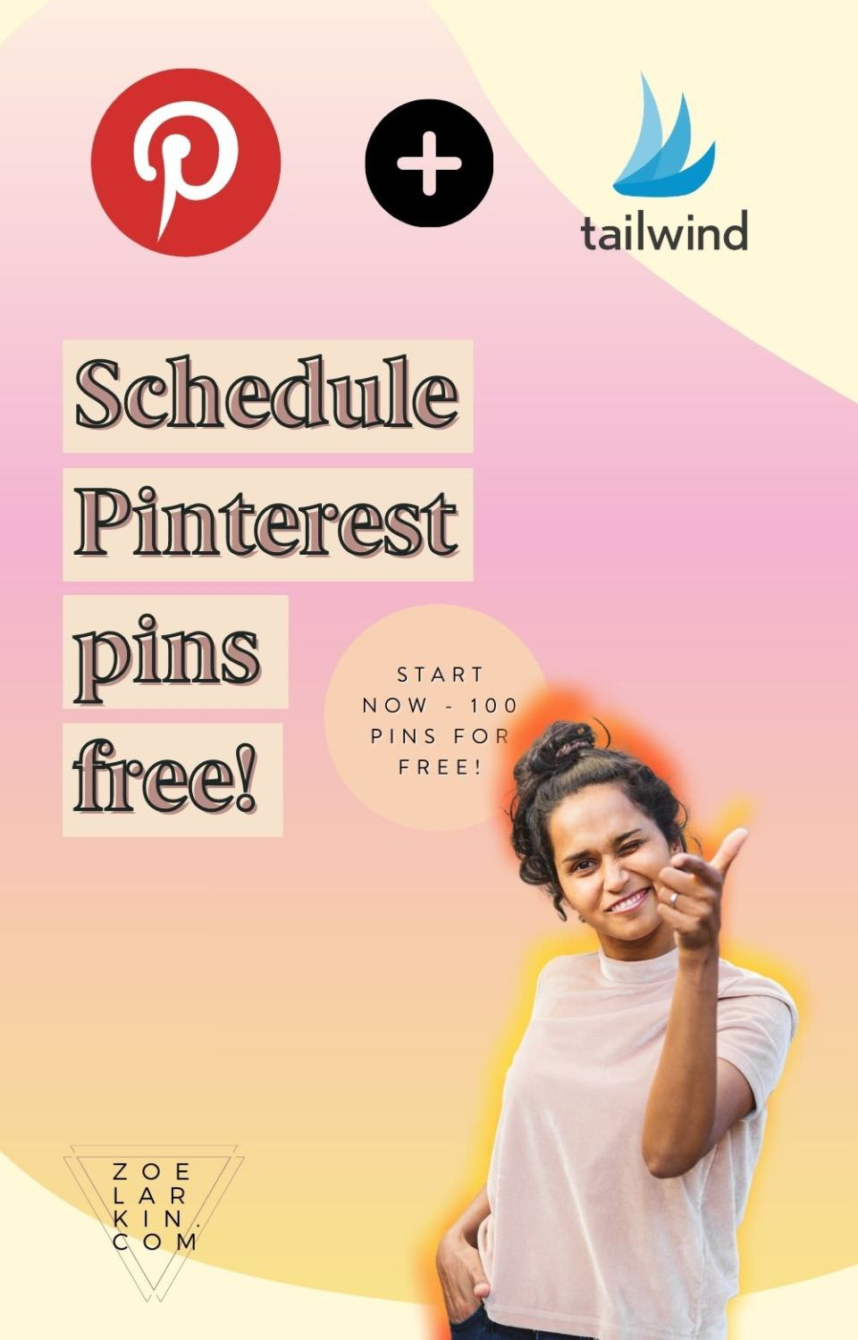 New to Pinterest marketing? As you dive further into using Pinterest for your business or blog, you'll want to speed up your workflows by scheduling out your Pinterest pins well in advance.  Whether you're a blogger, biz owner, influencer or content creator, you need to be consistent with a steady flow of high-quality pins from the web. Use Pinterest's own native scheduler or Tailwind for truly friction-free pinning! The best part is you can get started with 100 pins schedules FREE! #tailwind