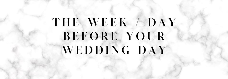 Zoe Larkin Photography's guide to how to have a stress free wedding - 40 tips