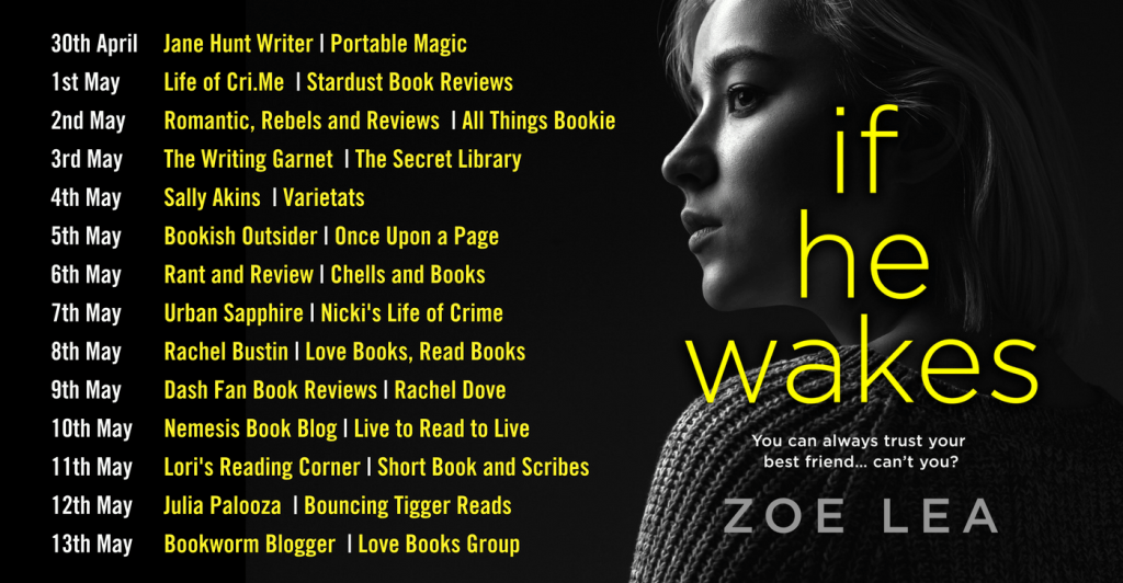 book published, if he wakes, zoe lea