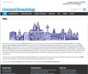 Liverpool Dermatology Screenshot