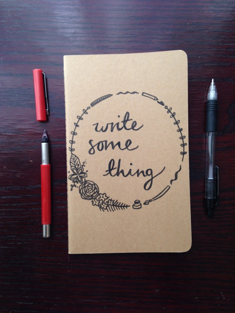 Write something | Blog post about getting those words unstuck, and getting back into writing.