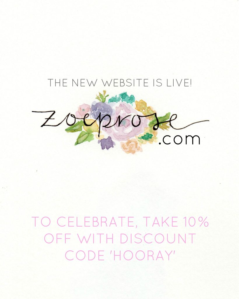 Zoeprose new website rebrand and launch
