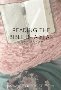BIBLE in a year with grace- tips on how a busy mum of three littles found reading the Bible in a year and helpful ideas to encourage you on your journey.