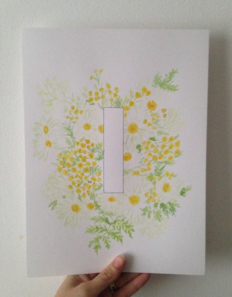 Zoeprose floral alphabet project and prints