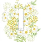 I Floral Alphabet Letter Print | Zoeprose