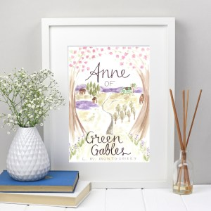 Anne of Green Gables bookcover print | Zoeprose