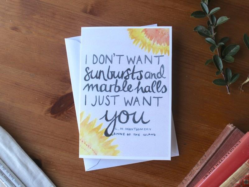 Anne Starbursts Card