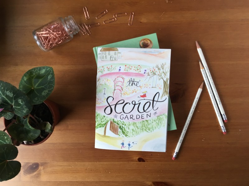 The Secret Garden Notebook