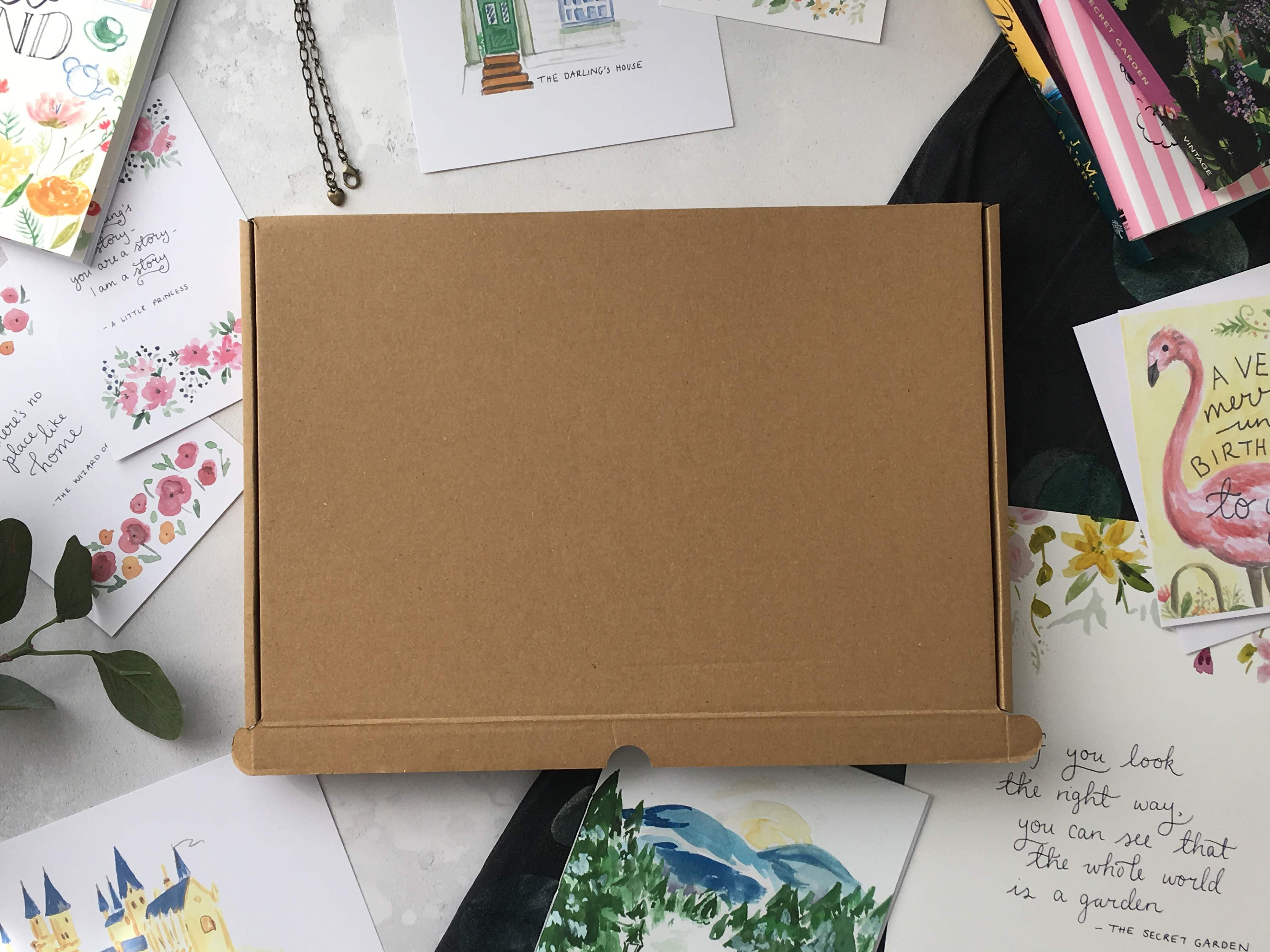 Whimsy and Wonderland, Classic children's book subscription box