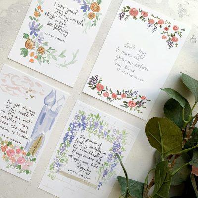 Postcard sets